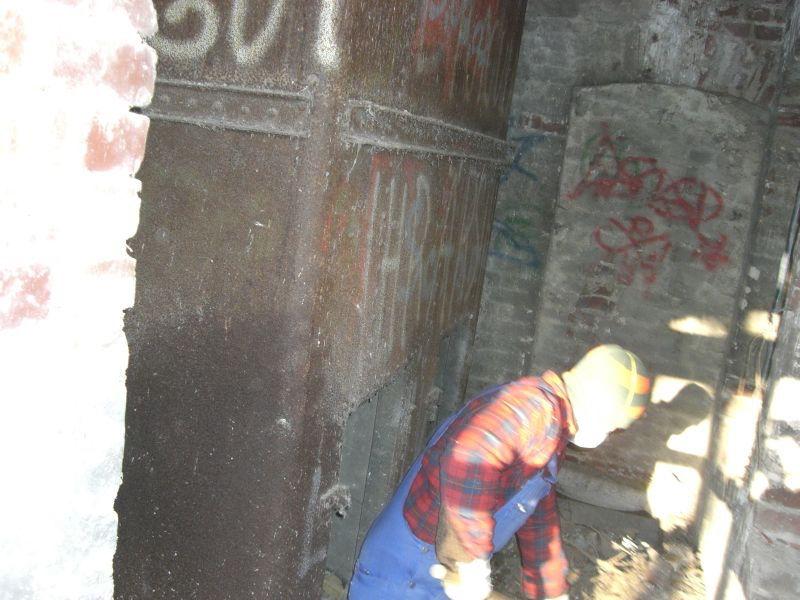Arbeiten am Wasserturm 01
