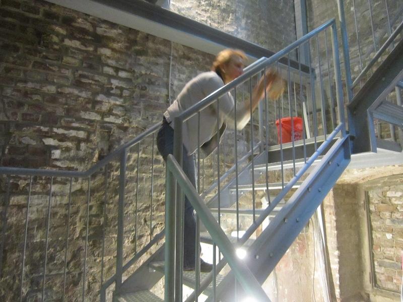 Reinigung Treppengeländer