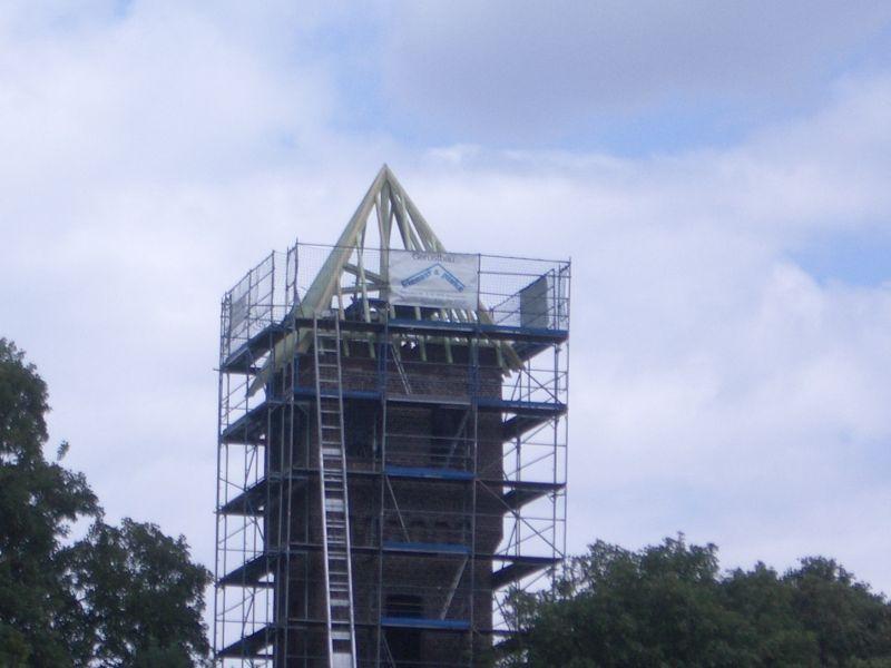 Wasserturm Juli 07 Rohbau