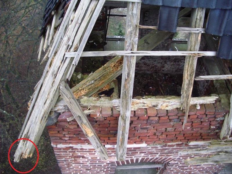 Wasserturm vor Renovierung