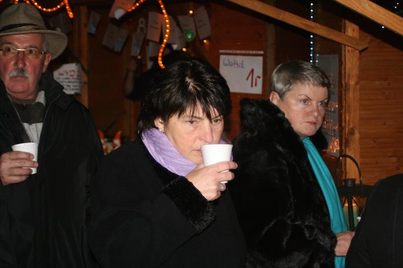 Hübners und Helga Schiefer