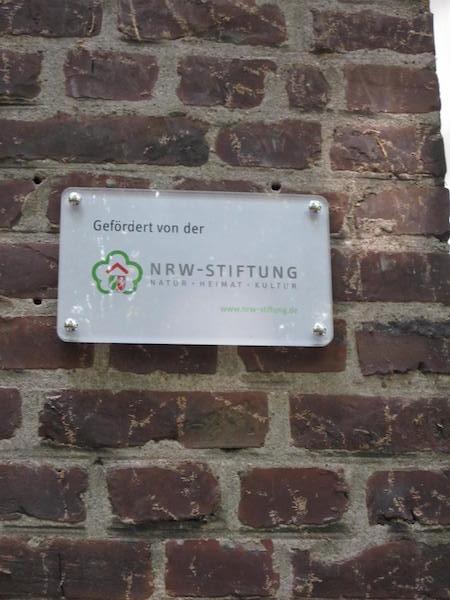 NRW Stiftungstafel