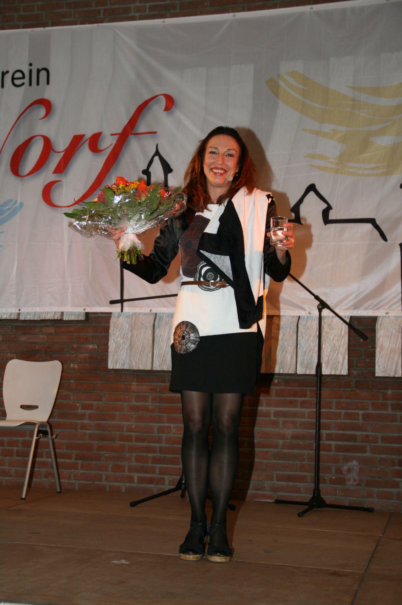 Comedian Andrea Volk, Köln